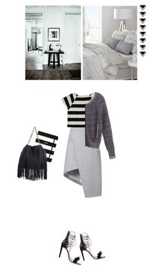 """""""Untitled #970"""" by mercedesrenee ❤ liked on Polyvore featuring moda, Kate Spade, STELLA McCARTNEY, Alice + Olivia, Thierry Mugler, Victoria's Secret y Alessandro Dell'Acqua"""