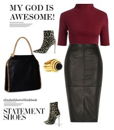 Styled by Liz by elizabethhorrell on Polyvore featuring River Island, STELLA McCARTNEY and Piaget