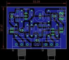 Pcb power amplifier ocl garpendoz layout pcbs layout design sharing pcb power amplifier tone control speaker protector etc you can see all about pcb design of all around the world here ccuart Image collections