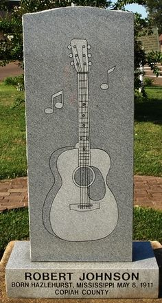Robert Johnson Birthplace - Hazelhurst, MS - Blues Legends on Waymarking.com