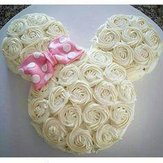 Bolo Minnie Rosa Inspire sua Festa 6