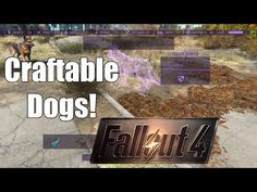 Craftable Dogs and other Animals at Fallout 4 Nexus - Mods and community