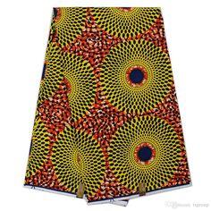 YBGHA-137 New African Wax Print Fabric,Ankara Fabrics Batik Super Hollandais Wax…