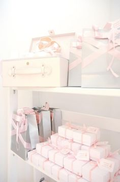 Ballet Party favor display
