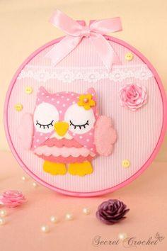 felt owl♥
