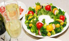 クリスマスに、リースサラダはいかが?|レシピ&グルメノート