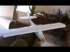 How to build a RC plane for $10 (part 1) - YouTube