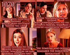 First Date Buffy Goodness