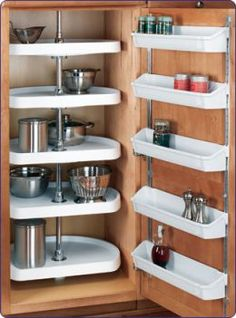 Rv Camper Hacks Kitchen Storage Solutions 37 image is part of Best Hacks Storage Solutions for RV Camper Kitchen gallery, you can read and see another amazing image Best Hacks Storage Solutions for RV Camper Kitchen on website Camper Storage, Door Storage, Kitchen Storage, Van Storage, Cabinet Storage, Kitchen Pantry, Organized Kitchen, Door Shelves, Pantry Storage