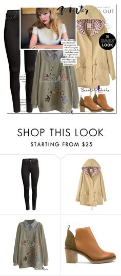 """""""Beautifulhalo"""" by dora04 ❤ liked on Polyvore featuring H&M, Miista, Arco, women's clothing, women's fashion, women, female, woman, misses and juniors"""