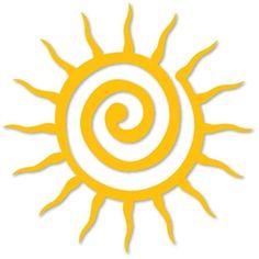 Silhouette Design Store - View Design #2768: sun