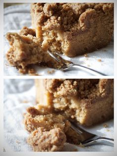 New York Style Brown Sugar Crumb Cake. A good crumb cake should contain a LOT of crumb. In fact, in my opinion, crumb cake is all about the crumb.