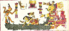 El mito del diluvio universal puede hallarse en muy diversas culturas: hindú, sumeria, griega, acadia, china, mapuche, maya, azteca y pascuense (Isla de Pascua). Así, en el manuscrito  mexica denominado 'Códice Borgia', se recoge la historia del mundo dividida en edades, de las cuales la última terminó con un gran diluvio provocado por la diosa  Chalchiuhtlicue. En la imagen, ilustración de  Chalchiuhtlicue perteneciente, precisamente, al Códice Borgia.