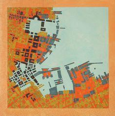 "Saatchi Online Artist: Federico Cortese; Paint, 2000, Mixed Media ""Cipher 5"""