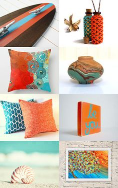 "Sheryl did a great job on this collection - ""Home Decor Brights!"" --Pinned with TreasuryPin.com"