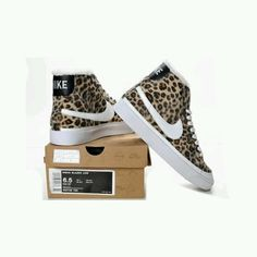 Oh @Nike, cheetah print, Air Force 1's get into my life...