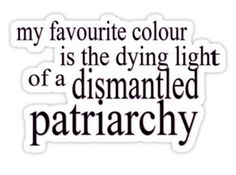 """This """"Feminist's Favourite Color"""" T-shirt:   Community Post: 20 Awesome Things Every Proud Feminist Needs In Her Life"""