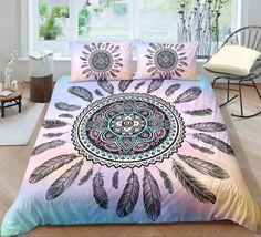 Bohemian | Bohemian Shrine Bohemian Bedding Sets, Hippie Bedding, 3d Bedding Sets, Comforter Sets, Unique Bedding, Luxury Bedding, Duvet Cover Sets, Pillow Covers, Blanket Cover