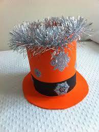 Resultado de imagen para sombreros locos para niños+moldes Crazy Hats, Happy Holi, Things To Make, Manualidades, Papa Noel