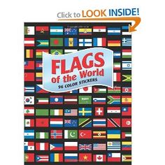 Flags of the World: 96 Color Stickers (Dover Stickers): A. G. Smith: 9780486485263: Amazon.com: Books