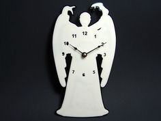 doctor who weeping angle clock #Geekery to craft #whovian