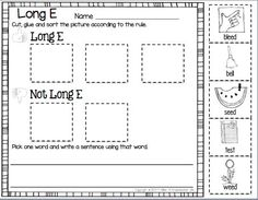 FREEBIE - Long E and