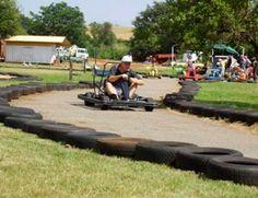 Swartkrans Go Karting - 700m a lap. Longest Go Karting track in SA!