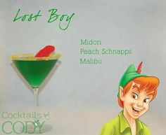 Of your looking for fun cocktail recipes look no further! These Disney cocktail recipes are perfect fun for any party. Malibu Cocktails, Disney Cocktails, Cocktail Disney, Disney Themed Drinks, Cocktail Drinks, Cocktail Recipes, Disney Alcoholic Drinks, Party Drinks, Fun Drinks