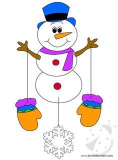 Addobbi Invernali per la scuola 2