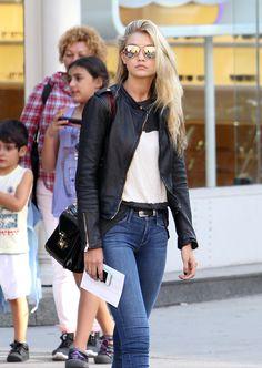 Gigi Hadid's bag - it's Rebecca Minkoff