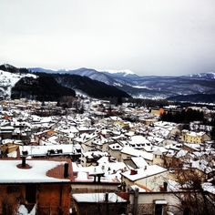 Every day a new perspective of Abruzzo :D    today we are in Pescasseroli!!    many thanks to Manuela Zaccaria
