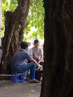 Afternoon chat in HCMC