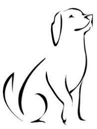 Risultati immagini per minimalist dog tattoo