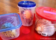 I love all the ocean ideas on this site - so ingenious and original, not to mention very educational and fun for toddlers!