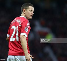 Ander Herrera of Manchester United in action during the Barclays Premier League match between Manchester United and Swansea City at Old Trafford on January 2, 2016 in Manchester, England.