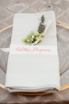 Creative Placemat Ideas- Way to add interest to each place setting ...
