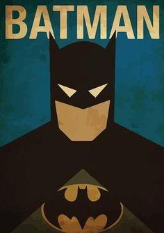 Minimal Super Heroes Vintage Posters (Buy 3 Free 1)
