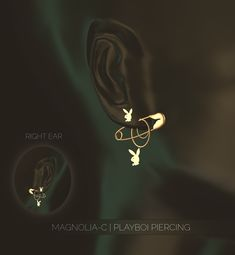 — [Magnolia-C] Piercing Set I'm absolutely in love. Les Sims 4 Pc, Sims Four, Sims 4 Mm, Sims 4 Teen, Sims 4 Toddler, Sims 4 Mods Clothes, Sims 4 Clothing, Sims 4 Piercings, Septum Piercings