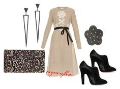 """HOLDING ON"" by myownflow on Polyvore featuring Alaïa, Altuzarra, Sidney Chung and Roberto Coin"