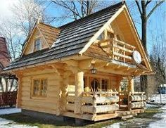 Image result for ideas for small log cabins