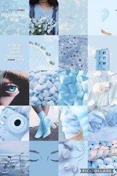Blue Aesthetic Tumblr, Light Blue Aesthetic, Blue Aesthetic Pastel, Aesthetic Pastel Wallpaper, Aesthetic Wallpapers, Peach Aesthetic, Aesthetic Backgrounds, Backgrounds Wallpapers, Tumblr Backgrounds