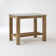 """Rustic Kitchen Island 