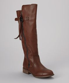 Look at this Brown Talia Boot on #zulily today!