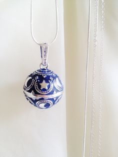 Harmony Bola Ball Angel Chime Pendant by oldredmaredesigns on Etsy, $51.50