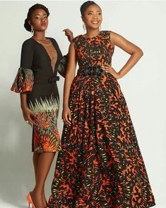 Latest beautiful collection the best plain and patterned ankara collections there are in the African print ankara fashion world Ankara Styles For Women, African Dresses For Women, African Print Dresses, African Print Fashion, African Attire, African Fashion Dresses, African Wear, African Women, Fashion Prints