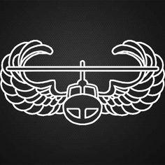"Air Assault Badge 5"" Cut Vinyl Decal - Gruntworks11b"