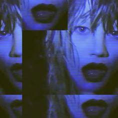 Aesthetic Grunge, Blue Aesthetic, Aesthetic Photo, Rocknroll, Nam June Paik, Crystal Castle, Monochrom, Looks Cool, Trippy