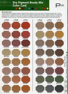 Colored Concrete Colors Butterfield Uni Mix Integral