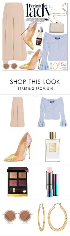 """FSJ Shoes"" by oshint ❤ liked on Polyvore featuring TIBI, Jacquemus, Inez & Vinoodh, Kayu, Tom Ford, MAC Cosmetics, House of Holland, Fragments, shoes and fsjshoes"