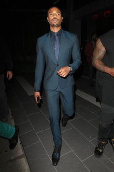 7e5509497842 Michael B. Jordan - and those shoes. Boa Steakhouse